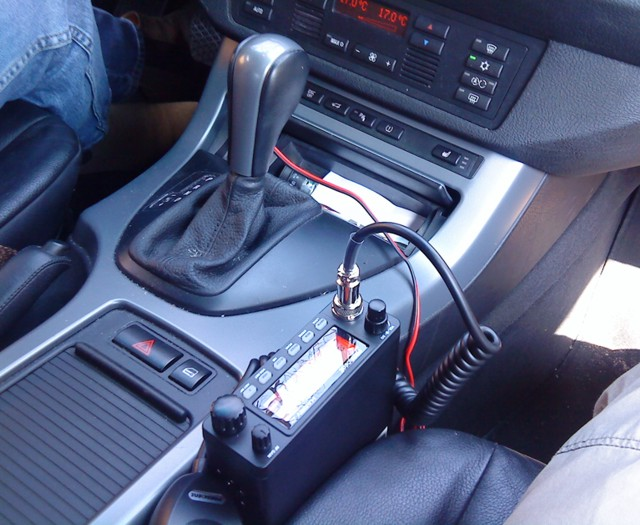 Cb radio w BMW